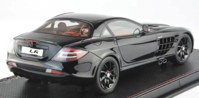 Fronti Art Mercedes Benz Slr Black O Diecastsocietycom