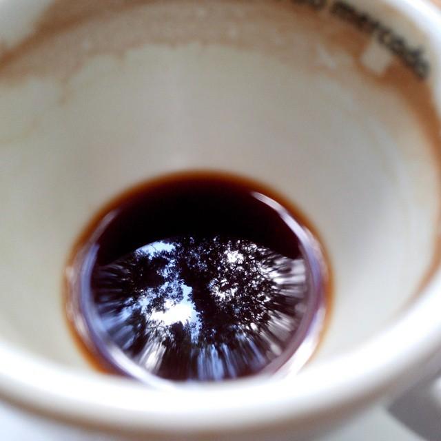O café reflexo