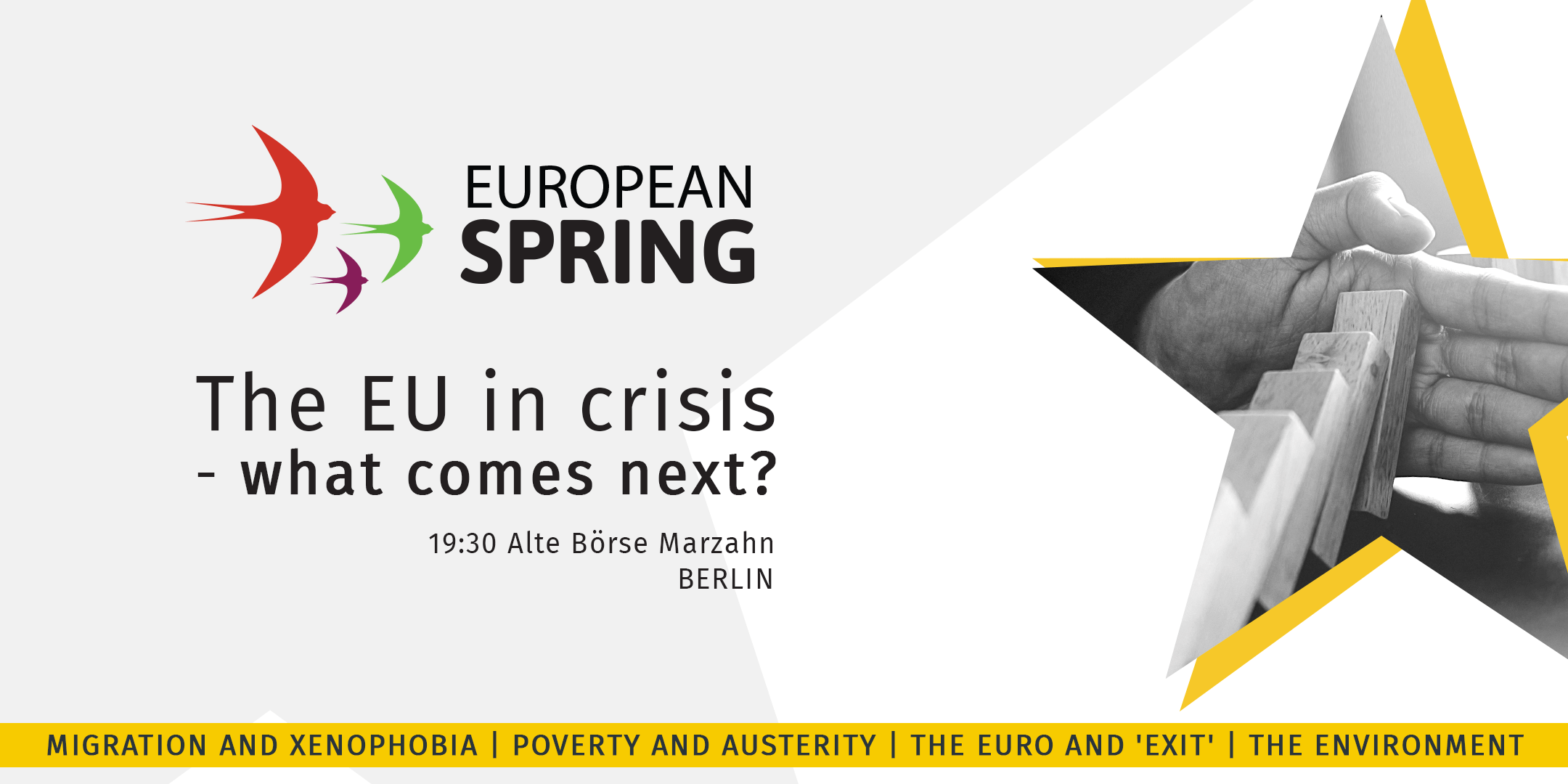 Berlin 24.de Austerity Xenophobia Euro And Environment Diem25 And European