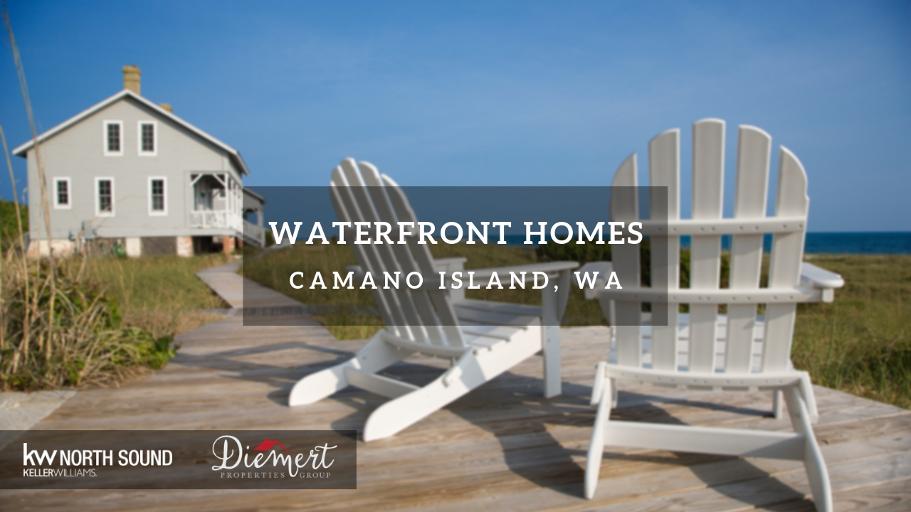 See All Waterfront Homes For Sale In Camano Island Wa 98282 Diemert Properties Group