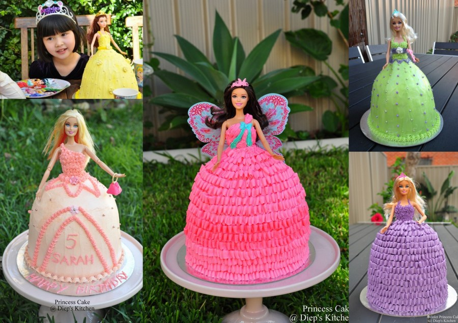 I made my first princess cake nearly 3 years ago for Vanessa\u0027s 5th birthday. A week before her birthday, my elder sister sent me a Youtube link of how to ...
