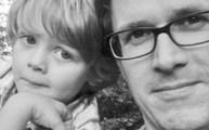 Foto: Selfie mit Sohn Jonas Theo