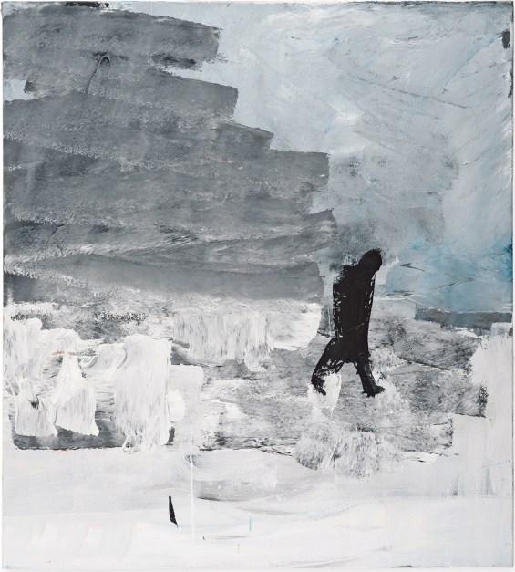 Eisheilige V von Astrid Esslinger, 100 x 90 cm, 2013. Foto Otto Saxinger