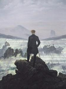 Wanderer above the sea of Data von Davide Bevilacqua