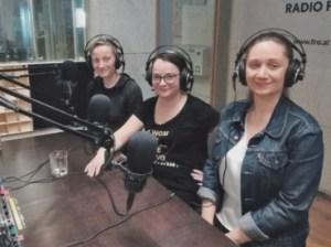 Im Studio: Gabriele, Kepplinger, Julia Pühringer und Jelena Pantic-Panic. Foto Daniela Banglmayr
