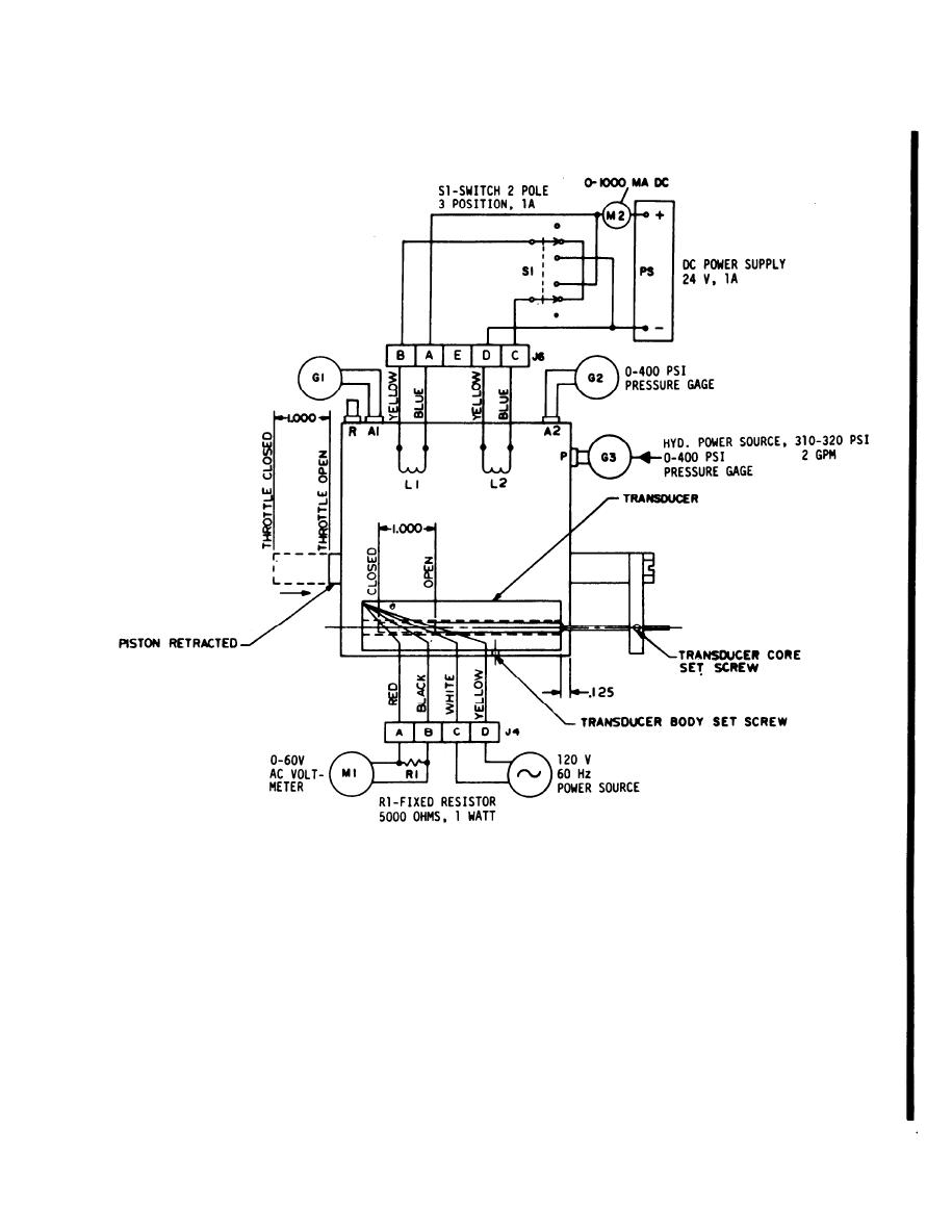 hydraulic actuator schematic diagram