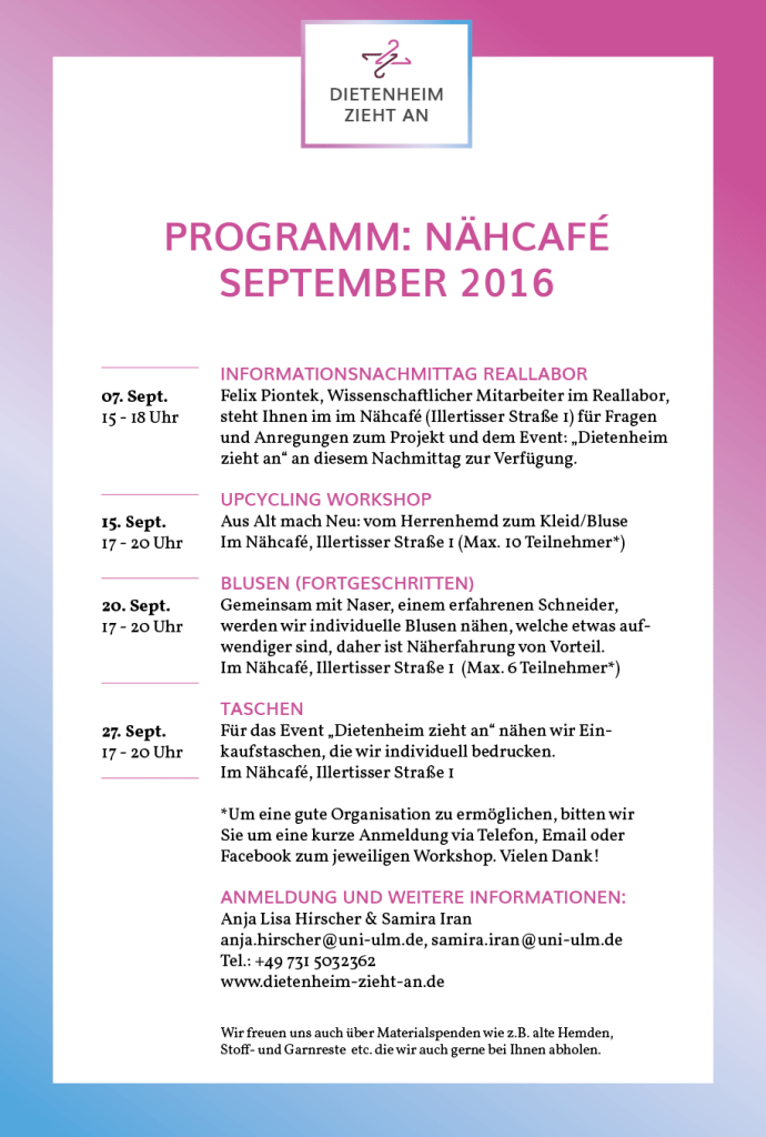 Nähcafe_Programm September