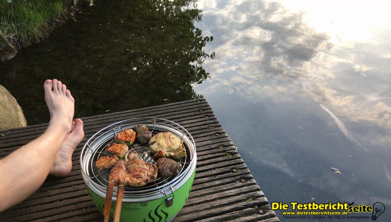Rauchfreier Holzkohlegrill Reinigen : Lotusgrill reinigen lotusgrill der rauchfreie holzkohlegrill seite