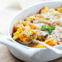 Cheesy Baked Butternut Squash + Thanksgiving Side Dish Recipes