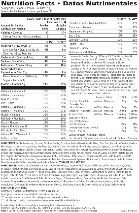Herbalife - DietShake-Reviews
