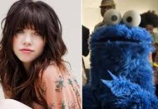 Carly Rae Jepsen & Cookie Monster share the music hits of the summer.