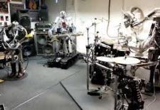 Things That Are Awesome: The World's Heaviest Metal Band [All Robots] Cover Motörhead's 'Ace of Spades'