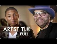 Pharrell Williams & Daniel Lanois in the sonic laboratory