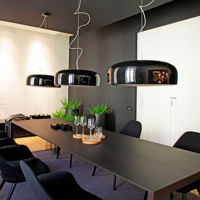 Flos Led Verlichting Flos Smithfield S Led Suspension Pendant Lamp Black