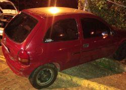 Veículos são removidos após acidentes em Bento