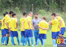 Juvenil do Clube Esportivo vence primeiro jogo treino do ano