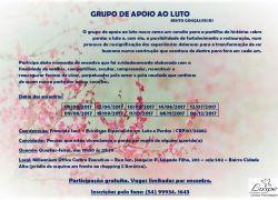 Grupo de Apoio ao Luto inicia encontros em março em Bento