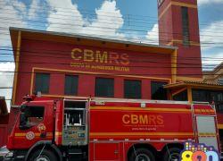 Bombeiros de Bento reforçam alerta para prevenção de incêndios