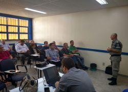 3ºBpat reúne-se com Consepros da região em encontro realizado em Bento