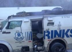 Assalto a carro-forte mobiliza polícia na região da Serra