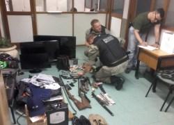 Após perseguição e tiroteio, BM prende assaltantes no Vale dos Vinhedos