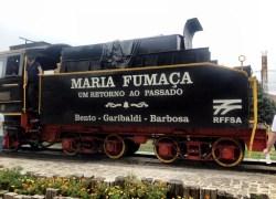 ABRAÇAÍ promove passeio solidário de Maria Fumaça