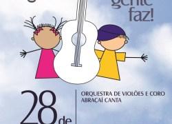 ABRAÇAÍ promove concerto com entrada gratuita