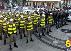 Alunos da BM atuarão no policiamento em Bento nos próximos dias