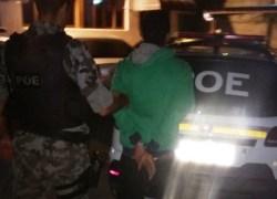 POE prende jovem por tráfico de drogas nos Eucaliptos em Bento