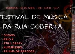 Festival de Música da Rua Coberta ocorre domingo em Bento