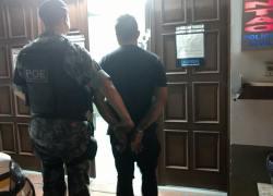 Jovem é preso e adolescentes são apreendidos pelo POE em Bento