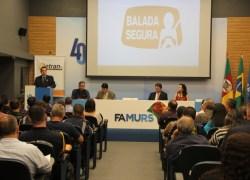 Detran/RS reúne municípios conveniados à Balada Segura