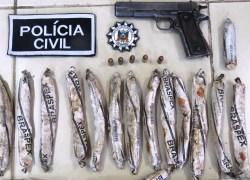 Polícia localiza explosivos e pistola de uso restrito em São Valentim do Sul