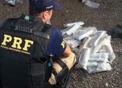 Com aumento de apreensões de drogas na BR-470, crescem ações penais na Justiça Federal