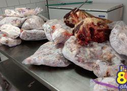 Força-Tarefa realiza operação em Bento e localiza mais de 900kg de carne sem procedência