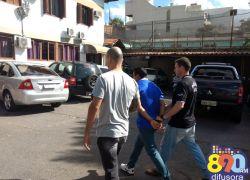 Homem preso acusado de assassinato em Bento