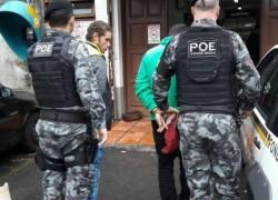 POE captura foragidos no São Roque em Bento