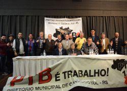 Encontro Regional do PTB encaminha candidatura de Santini à Câmara Federal