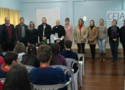 """Projeto """"OAB Vai à Escola"""" prossegue na Rede Municipal de Bento"""