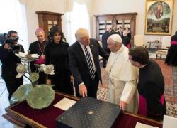 Papa recebe Trump no Vaticano