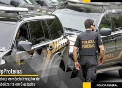 Polícia Federal faz operação contra venda de anabolizantes no RS e outros cinco estados