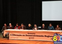 Corte de orçamento para a Educação no IFRS pauta Seminário em Bento
