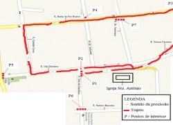 Trânsito de Bento terá alterações nos feriados de Santo Antônio e Corpus Christi