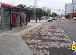 Abrigos de ônibus são implantados em Bento
