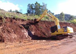 Rodovia ERS-373 está parcialmente interrompida em Gramado