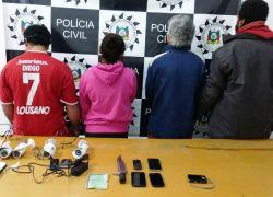 Polícia Civil deflagra mais uma etapa da Operação Leão no combate ao tráfico em Vacaria