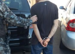 Homem detido com veículo irregular em Bento