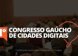 1º Congresso Gaúcho de Cidades Digitais, que ocorre em Bento, divulga programação
