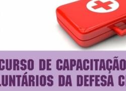 4º Curso de Capacitação de Voluntários da Defesa Civil ocorre dia 12 em Bento