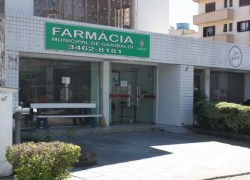 Farmácia Municipal de Garibaldi é fechada para perícia após vigilante ser esfaqueado